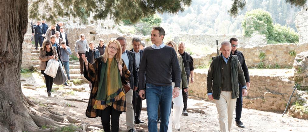 Μητσοτάκης: να αναδείξουμε τον πολιτιστικό πλούτο της Λακωνίας