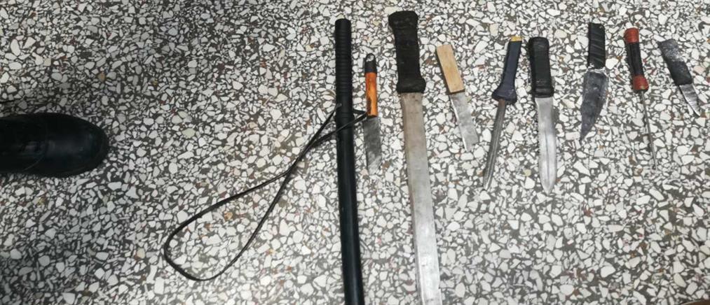 Αυτοσχέδια φονικά όπλα και βίαιες συγκρούσεις στις φυλακές Κορυδαλλού (εικόνες)