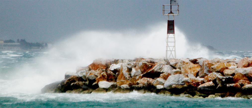 Κακοκαιρία: Αλλαγές στα δρομολόγια των πλοίων