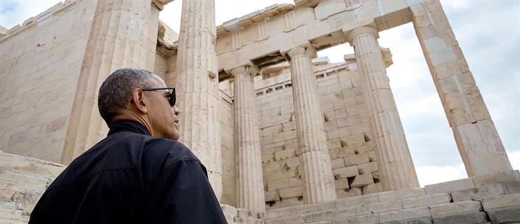 Η επίσκεψη Ομπάμα στην Αθήνα από τον φωτογραφικό φακό του Λευκού Οίκου (φωτο)