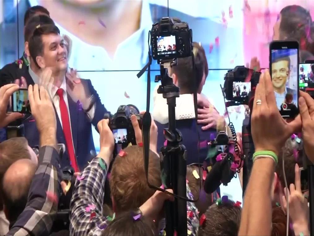 Πρόεδρος της Ουκρανίας ο Ζελένσκι