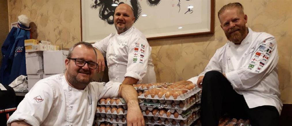 Χειμερινοί Ολυμπιακοί Αγώνες: Οι Νορβηγοί παρήγγειλαν κατά λάθος ...15000 αυγά! (φωτο)