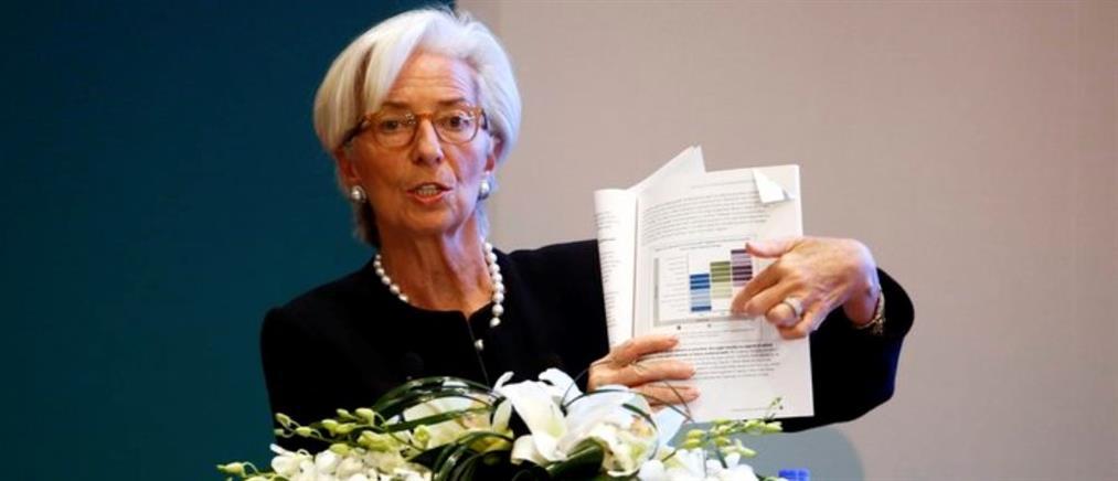 Λαγκάρντ: Οι πληγές της ελληνικής κρίσης δεν θεραπεύτηκαν σωστά
