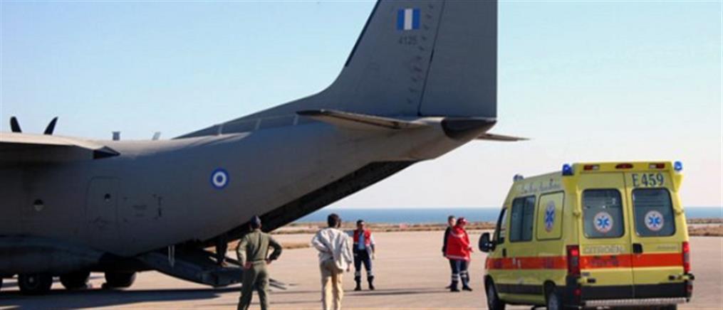 """Αεροπορία Στρατού: Πτήσεις """"σωτηρίας"""" για 25 ασθενείς"""