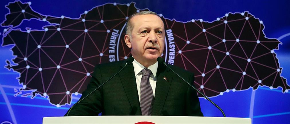 """Ο Ερντογάν κατηγορεί τις ΗΠΑ για """"οικονομική δολοφονία"""" της Τουρκίας"""