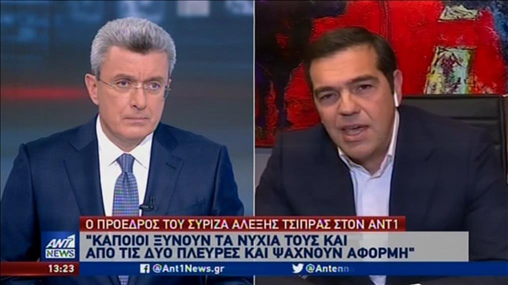 Αποστάσεις Τσίπρα από στελέχη του ΣΥΡΙΖΑ που «πυροβολούν» τον Τσιόδρα