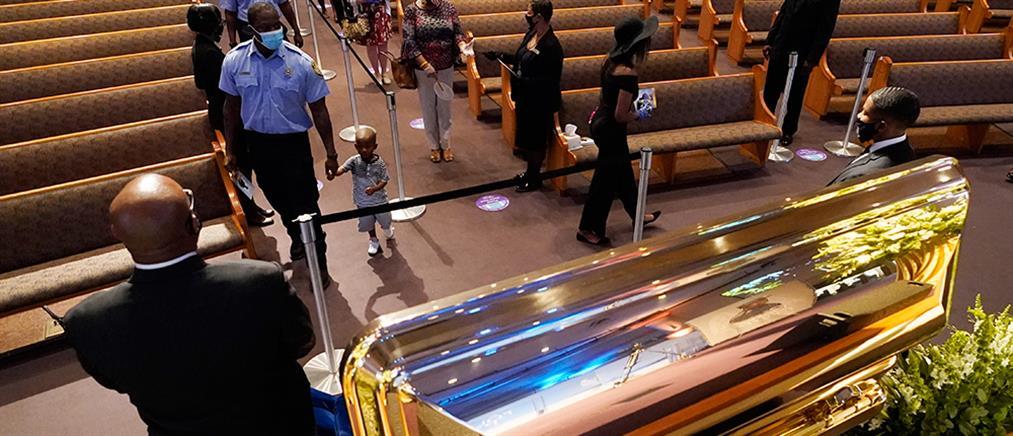 Τζορτζ Φλόιντ: Λαϊκό προσκύνημα πριν από την κηδεία του (εικόνες)