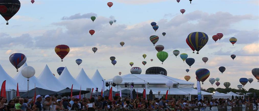 Γαλλία: Τα αερόστατα που ετοιμάζονται για παγκόσμιο ρεκόρ (βίντεο)