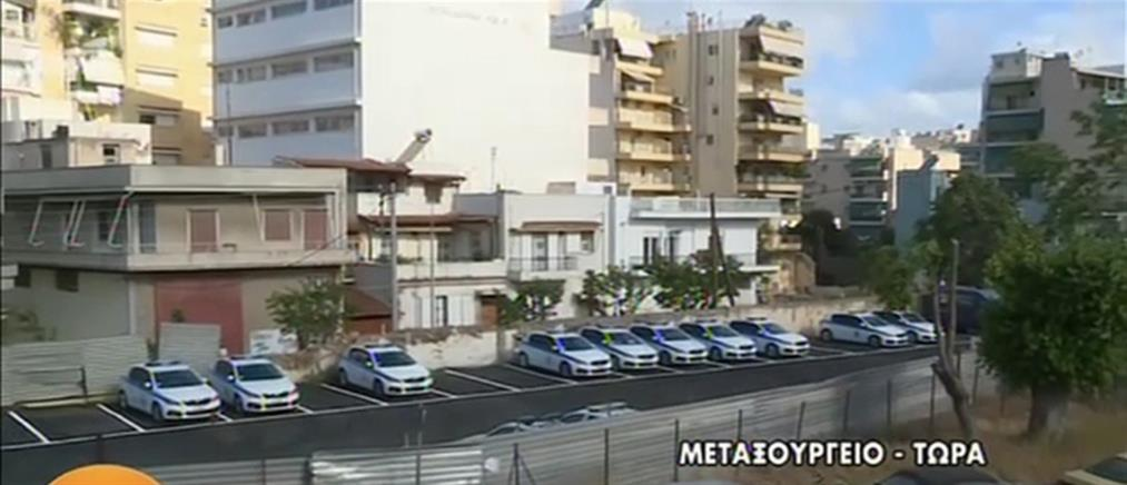 Έριξαν μολότοφ σε πάρκινγκ της Τροχαίας στο Μεταξουργείο