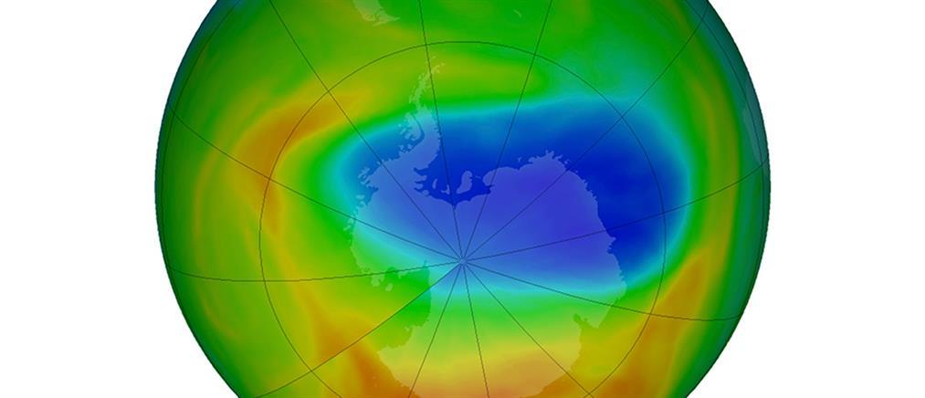 Κλιματική αλλαγή: Η τρύπα του όζοντος στο Νότιο Πόλο είναι μεγαλύτερη από την Ανταρκτική