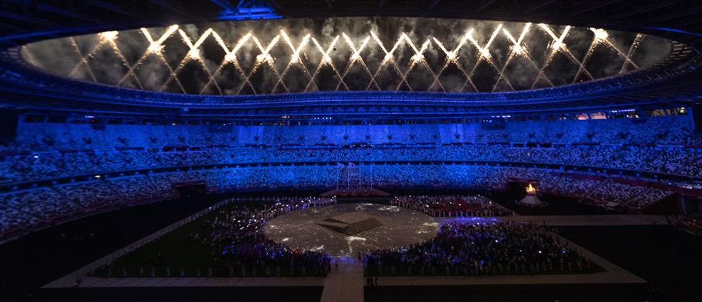 Ολυμπιακοί Αγώνες: φαντασμαγορική τελετή λήξης εν μέσω διαμαρτυριών (εικόνες)