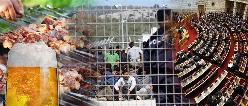 Μεταναστευτικό: μαίνονται πολιτικές κόντρες και αντιδράσεις (εικόνες)