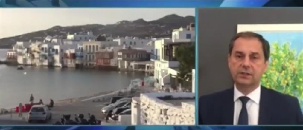 Θεοχάρης στο CNBC: ασφαλείς οι ταξιδιώτες, ακόμη κι αν υπάρξουν κρούσματα κορονοϊού (βίντεο)