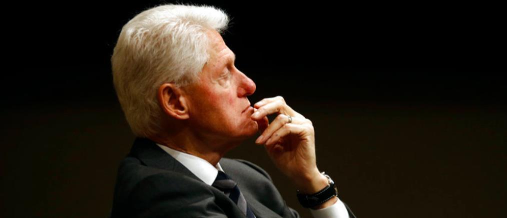 Μπιλ Κλίντον: Η ουρολοίμωξη εξελίχθηκε σε σηψαιμία