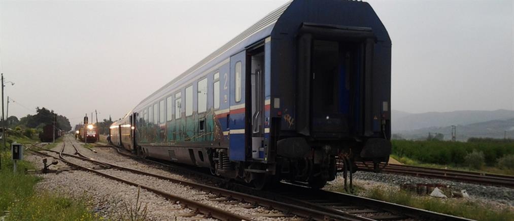 Εκτροχιασμός τρένου στο Κορδελιό Θεσσαλονίκης