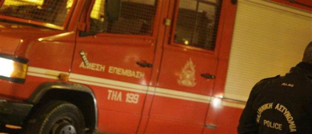 Γαλάτσι: φωτιά στα κρατητήρια του ΑΤ