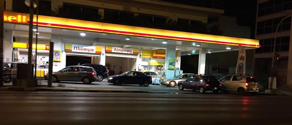 Μεγάλες ουρές στα βενζινάδικα μετά τα capital controls