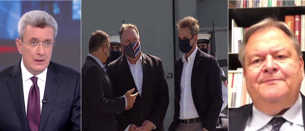 Βενιζέλος στον ΑΝΤ1: μονόδρομος η προσφυγή στην Χάγη (βίντεο)