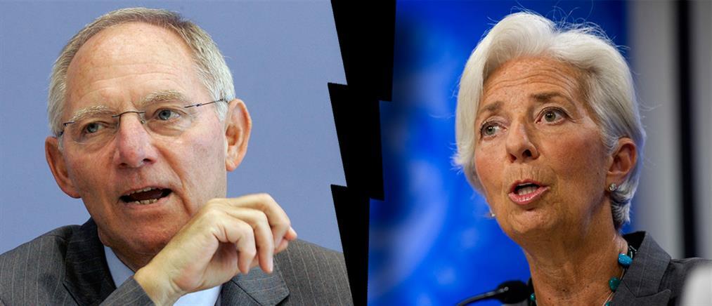 Αντιπαράθεση Σόιμπλε – Λαγκάρντ για το ελληνικό χρέος