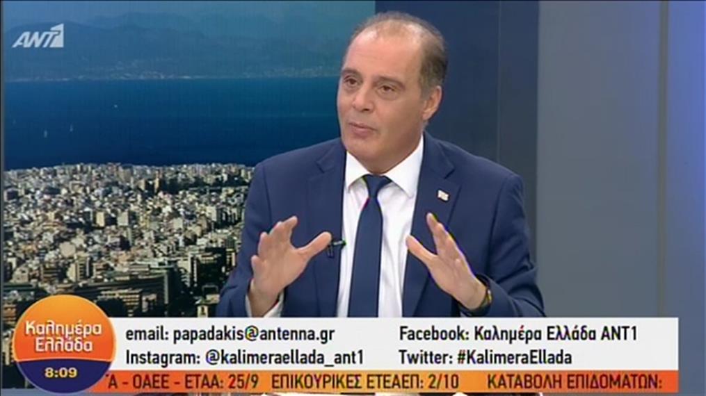 """Ο Κ. Βελόπουλος στην εκπομπή """"Καλημέρα Ελλάδα"""""""