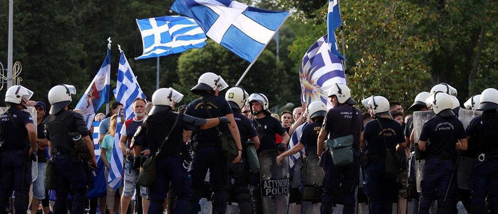 Ένταση και μικροεπεισόδια στη Θεσσαλονίκη – Αποδοκιμασίες κατά της Αχτσιόγλου (εικόνες)