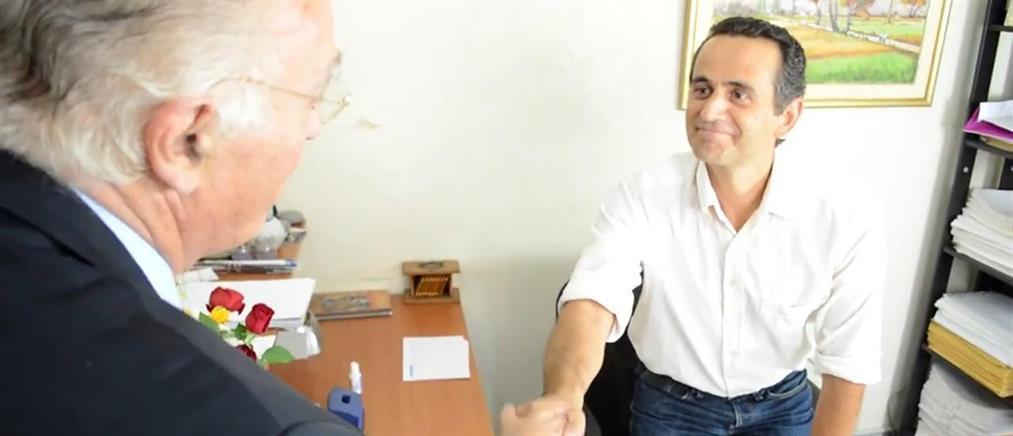 Το πρώτο προεκλογικό σποτ του Βασίλη Λεβέντη (βίντεο)