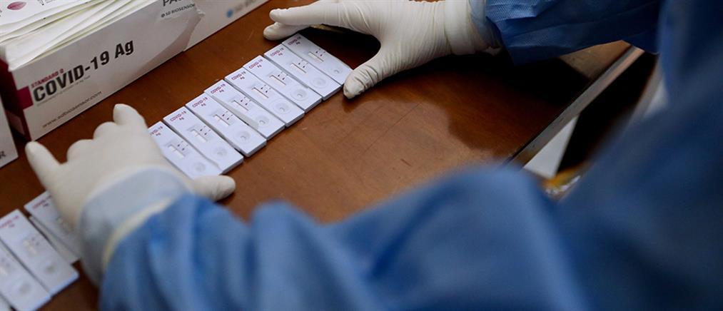 Κορονοϊός: Δωρεάν rapid test σε 165 σημεία την Δευτέρα