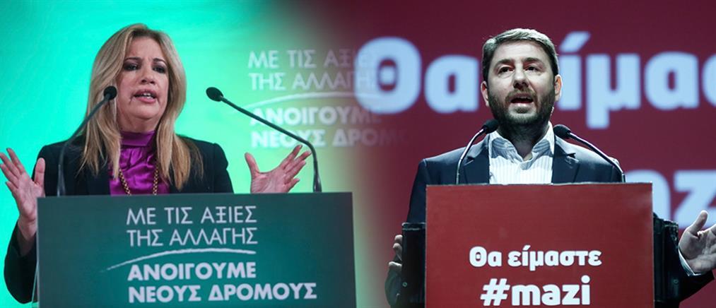 Ανδρουλάκης: η Γεννηματά φταίει για το 31% του ΣΥΡΙΖΑ