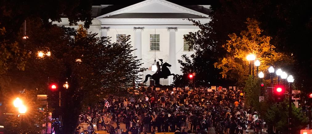Διαδηλώσεις κατά του Τραμπ έξω από τον Λευκό Οίκο (εικόνες)