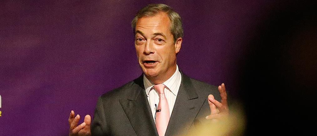Βρετανία: ολική επαναφορά του ευρωφοβικού Φάρατζ
