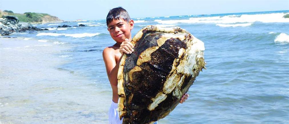 Το μήνυμα του μικρού Ζήση για καθαρές θάλασσες (βίντεο)