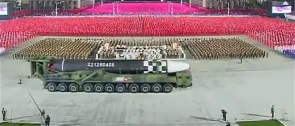 Βόρεια Κορέα: Νέος διηπειρωτικός βαλλιστικός πύραυλος