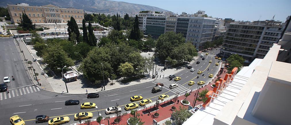 """""""Μεγάλος Περίπατος"""": Οι αλλαγές στην πλατεία Συντάγματος (εικόνες)"""