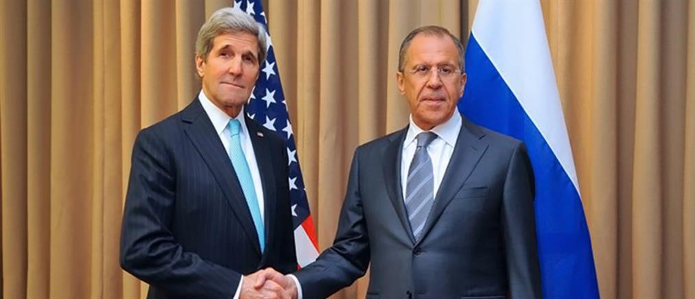 Πιέσεις Κέρι στον Λαβρόφ για την τήρηση της εκεχειρίας στην Ουκρανία