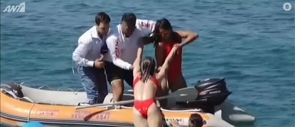 """""""Καλοκαίρι Μαζί"""": Ναυαγοσώστες εν δράσει (βίντεο)"""