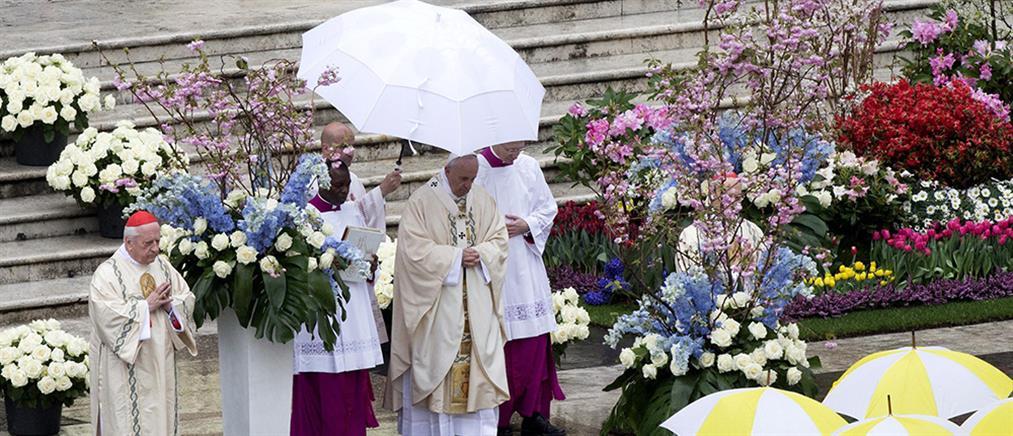 Έκκληση για παγκόσμια ειρήνη στο Πασχαλινό μήνυμα του πάπα