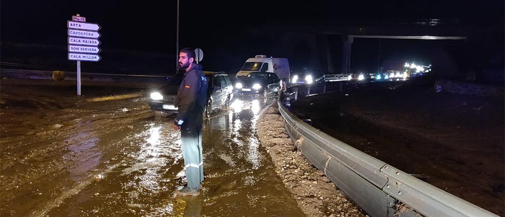 Φονικές πλημμύρες και καταστροφές στη Μαγιόρκα (βίντεο)