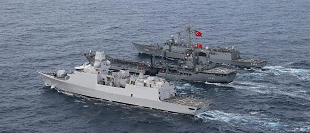 Νέα τουρκική NAVTEX για άσκηση με πραγματικά πυρά στο Αιγαίο