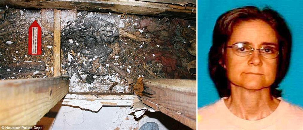 Η ανακαίνιση αποκάλυψε το σκελετό γυναίκας που αγνοούνταν από το 2015 (φωτό)
