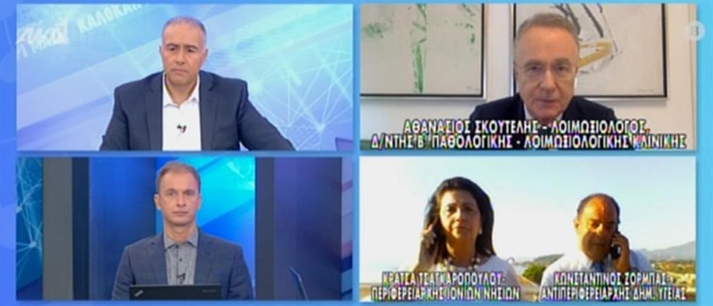 Κορονοϊός: Ανησυχία και ετοιμότητα για νέα κρούσματα στην Ελλάδα (βίντεο)