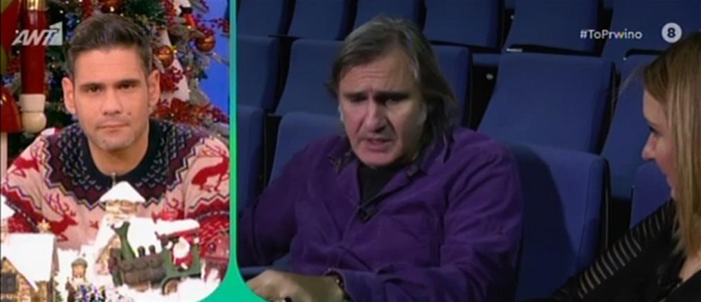 """Άκης Σακελλαρίου στο """"Πρωινό"""": δεν έχω καν πληρώσει τον ταξιτζή που με… έσωσε! (βίντεο)"""