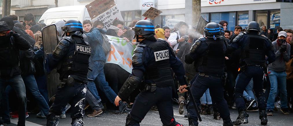 Βίαια επεισόδια στο Παρίσι (βίντεο + φωτο)
