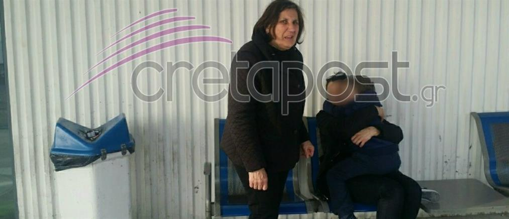 Κρήτη: Στην αγκαλιά της χήρας του καρδιολόγου ο γιος του (φωτο)