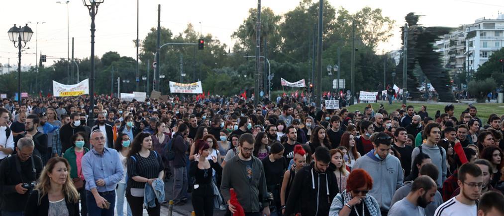 Χρυσοχοΐδης: Ουδεμία διάταξη του νομοσχεδίου εμποδίζει τις διαδηλώσεις