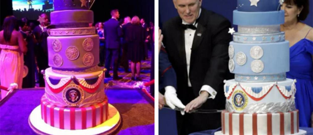#CakeGate: ο Τραμπ αντέγραψε την τούρτα του Ομπάμα! (φωτο)