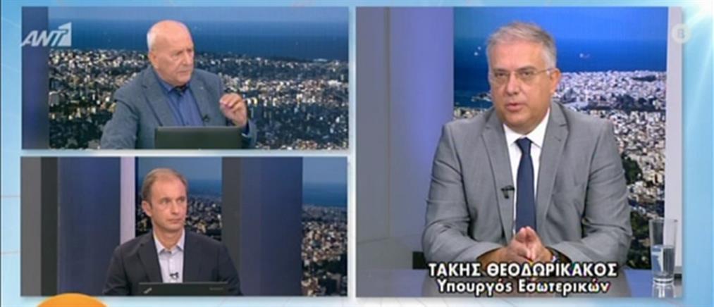 Ο Τάκης Θεοδωρικάκος στον ΑΝΤ1 για τις μάσκες στα σχολεία και τα ΚΔΑΠ (βίντεο)