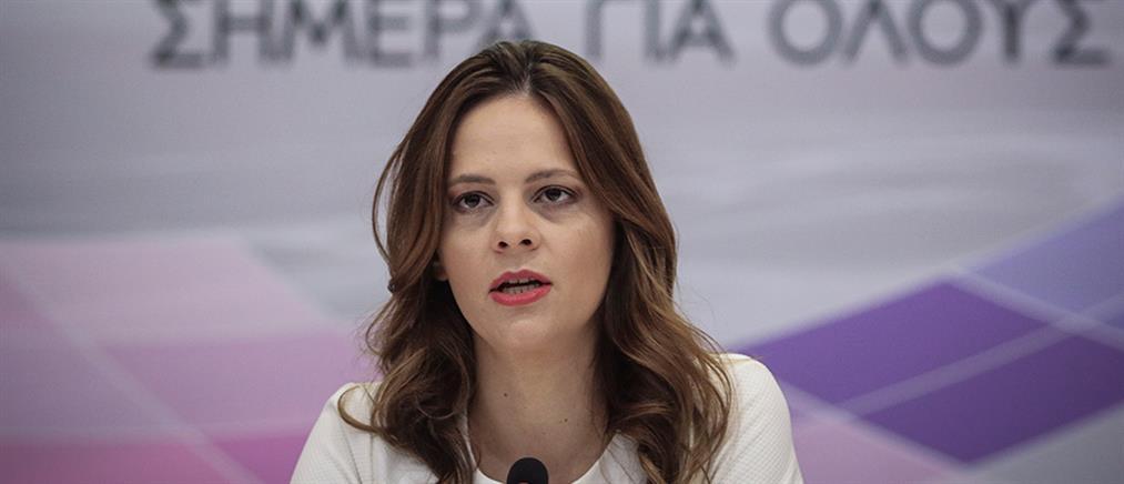 Νέα μέτρα κατά της ανεργίας ανακοίνωσε η Έφη Αχτσιόγλου