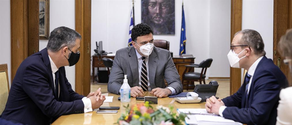 Νέο γραφείο του ΠΟΥ στην Αθήνα: Υπεγράφη η συμφωνία (εικόνες)