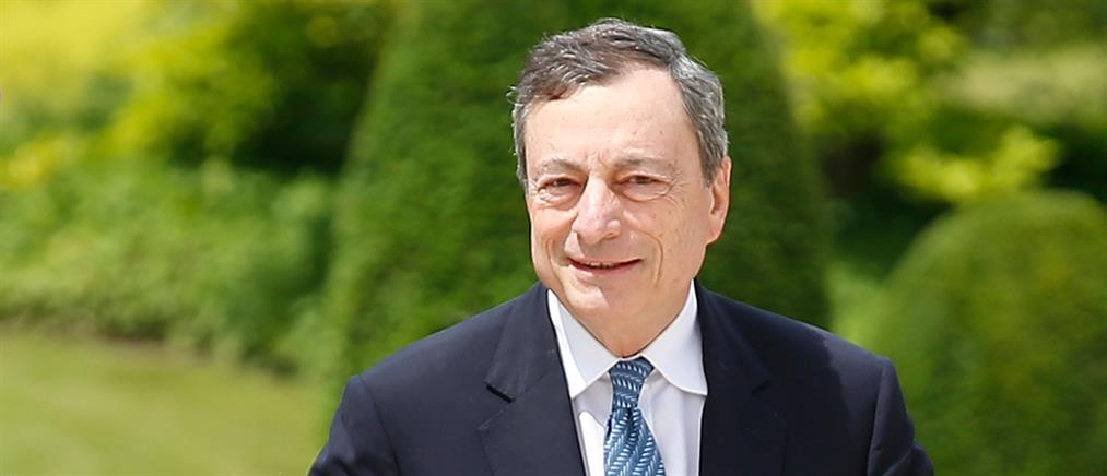 """""""Φρένο"""" από Ντράγκι στις ελληνικές ελπίδες για ένταξη στο QE"""
