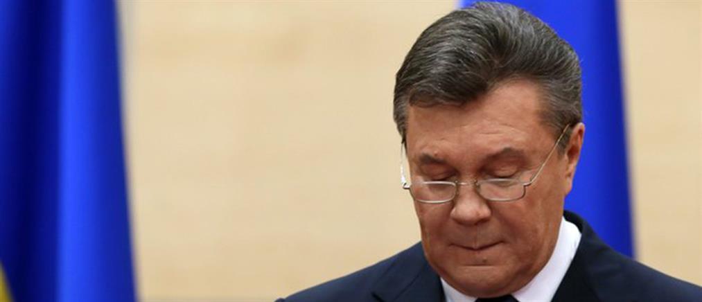 «Δεν μπορεί να δεχτεί» την απώλεια της Κριμαίας ο Γιανουκόβιτς